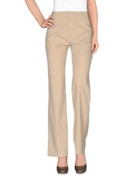 Cover Trousers Casual Trousers Women Beige