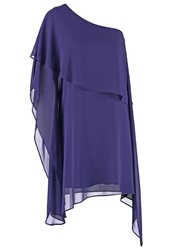 Swing Cocktail Dress Party Dress Purple