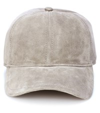 Rag And Bone Suede Cap Grey
