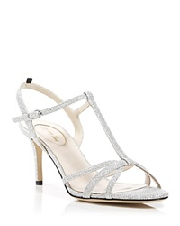 Sjp Collection By Sarah Jessica Parker Sjp By Sarah Jessica Parker Ankle Strap Sandals Gemma Metallic Mid Heel Diamond