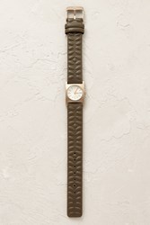 Anthropologie Uk Orla Sqr Dial Watch Green