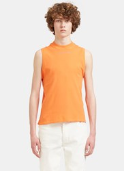 Eckhaus Latta Muscle Tank Top Orange