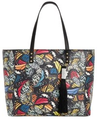 Inc International Concepts I.N.C. Deliz Stud Large Tote Created For Macy's Black Multi