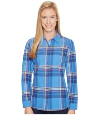 Kuhl Mable Long Sleeve Shirt Atlantis Long Sleeve Button Up Blue