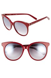 Bobbi Brown Women's 'The Lucy' 54Mm Sunglasses Red