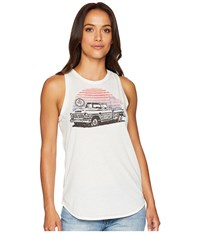 Rock And Roll Cowgirl Tank Top 49 6732 White Sleeveless