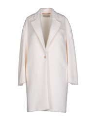 Veronique Branquinho Coats Ivory