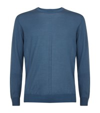 Tiger Of Sweden Marts Wool Jumper Male Blue