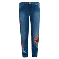 My Pair Of Jeans Gypsy Patchwork Blue