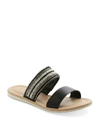 Kensie Diva Slides Black