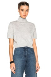 Rachel Comey Cropped Sweater In Gray
