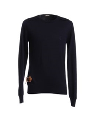 Galliano Crewneck Sweaters Grey