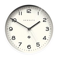 Newgate Number Three Echo Wall Clock White