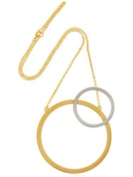 Vita Fede Sole Two Toned Necklace Gold