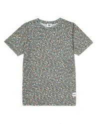 Hype X The Idle Man Mad Marble All Over Print T Shirt Green