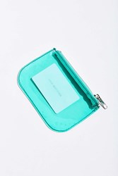 Urban Outfitters Transparent Mini Pouch Green