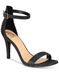 Material Girl Blaire Two Piece Dress Sandals Created For Macy's Women's Shoes Black