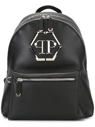 Philipp Plein 'Nicosia' Backpack Black