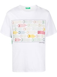 United Colors Of Benetton Graphic Print Crewneck T Shirt 60