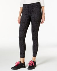 Ideology Printed Leggings With Headband Gift Set Only At Macy's Charcoal Medallion