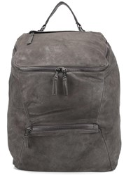 Giorgio Brato Top Handle Backpack Grey