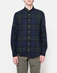 Gitman Brothers Vintage Blackwatch Madras Ls Button Down