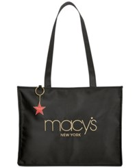 Macy's New York Shoulder Tote Created For Black