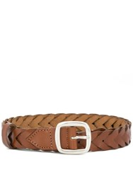 Etro Woven Belt Brown