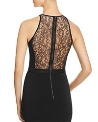 Alice Olivia Theodora Lace Back Sleeveless Top Black