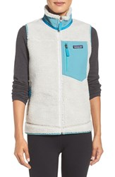 Patagonia Women's Classic Retro X Fleece Vest Tailored Grey