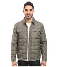 Timberland Thermofibre Shirt Jacket Castor Gray Men's Coat