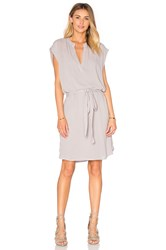 Lanston Sleevelees Shirt Dress Grey
