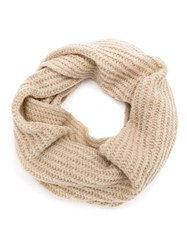 Cecilia Prado Maisa Knit Scarf Nude And Neutrals