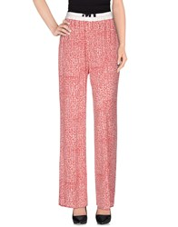 Liviana Conti Casual Pants Brick Red