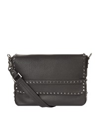 Valentino Studded Cross Body Bag Unisex Black