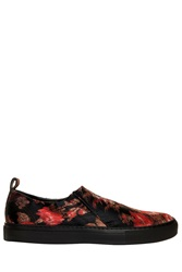 Giambattista Valli Jacquard Sneakers Red