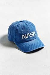Urban Outfitters Nasa Pigment Dyed Dad Hat Blue