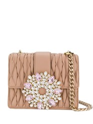 Gedebe Gio Embellished Tote Pink