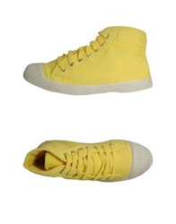 Bensimon High Top Sneakers Yellow