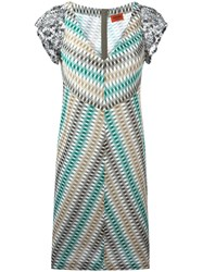 Missoni V Neck Knitted Dress