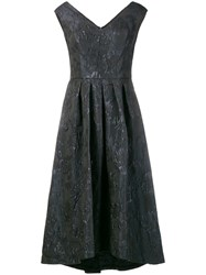 Lauren Ralph Lauren Angelicara Midi Dress Black