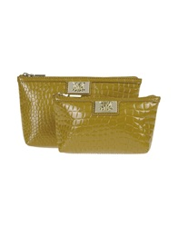Love Moschino Beauty Cases Camel
