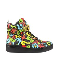 Moschino High Top With Buckle