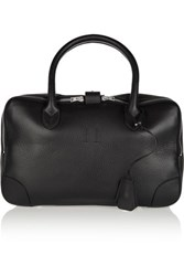 Golden Goose Deluxe Brand Equipage Small Textured Leather Tote Black