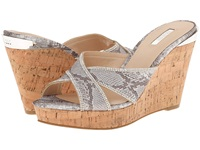 Guess Eleonora Silver Synthetic Women's Wedge Shoes