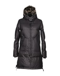 Walter Baker Down Jackets Steel Grey