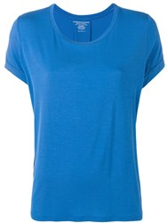 Majestic Filatures Round Neck T Shirt Blue