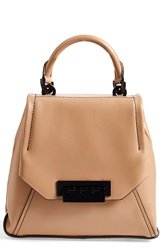 Zac Posen 'Eartha' Leather Envelope Flap Backpack Camel