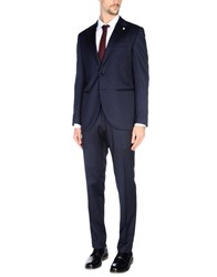 Luigi Bianchi Mantova Suits Dark Blue