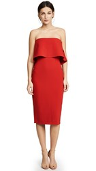 Likely Driggs Dress Scarlet